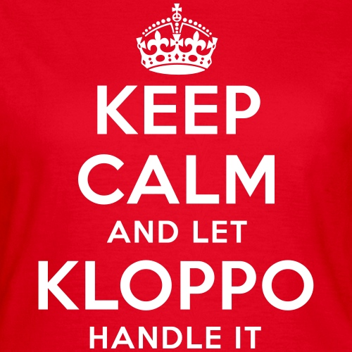 keep calm and let kloppo handle it