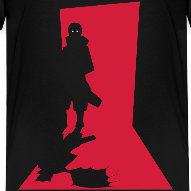 Monster in the Door - Børne premium T-shirt