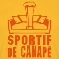 Motif ~ sportif de canapé