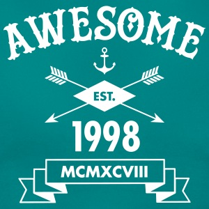 Awesome Est 1998 T-shirts - T-shirt dam