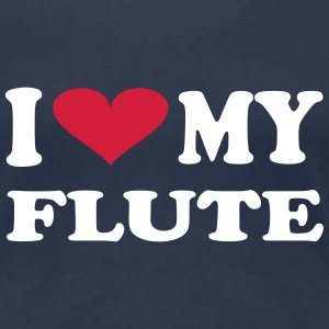 I Love My Flute - Women's Premium T-Shirt