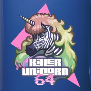 Super KILLER UNICORN 64 - Full Colour Mug