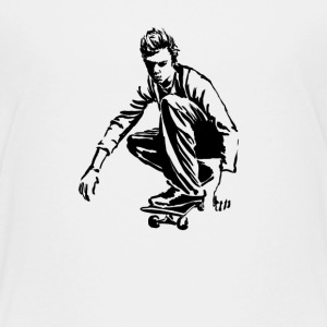 Skateboarder T-Shirts - Teenager Premium T-Shirt