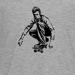 skateboarder Manches longues - T-shirt manches longues Premium Ado
