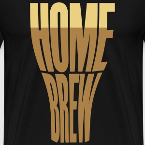 Homebrew glass T-Shirts - Men's Premium T-Shirt