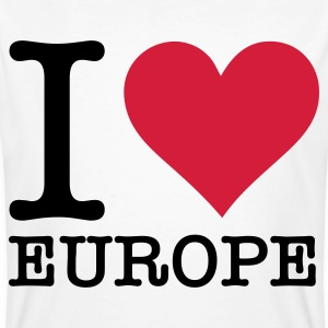 I love Europe! T-Shirts - Men's Organic T-shirt