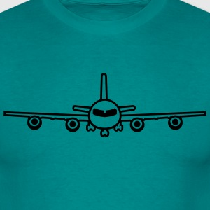 cool airplane landing landing gear stand design T-Shirts - Men's T-Shirt