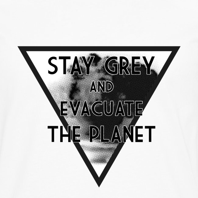 StayGreyEvacuate -Sleeve S.