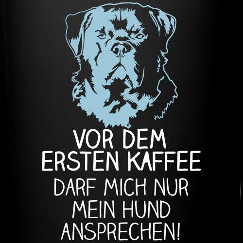 Vor dem ersten Kaffee... Rotti