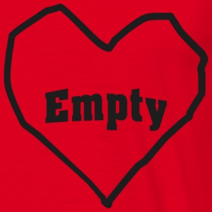 empty heart T-shirts - T-shirt herr
