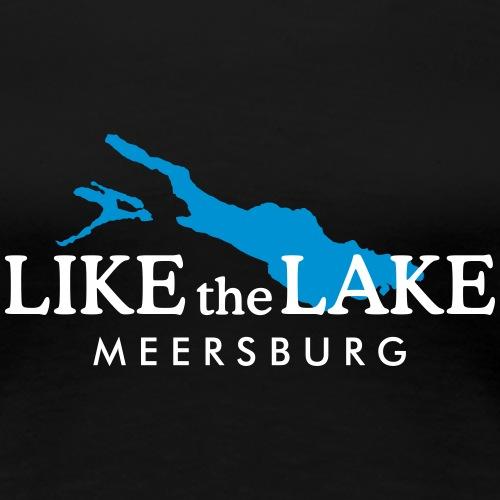 Like the Lake - Meersburg am Bodensee (Weiß)