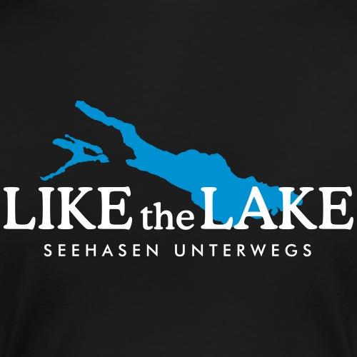 Like the Lake - Seehasen unterwegs (Weiß)