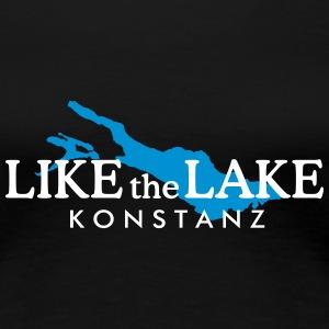 Konstanz am Bodensee - Like the Lake (Weiß)