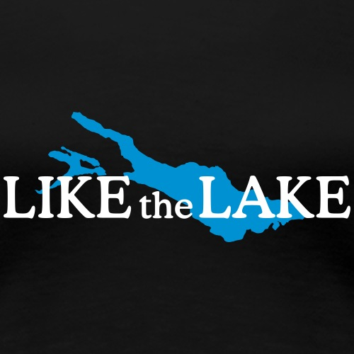 Like the Lake - Bodensee Design (Weiß)