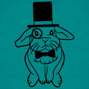 Sir Lord cylinder monocle gentleman glasses fly po T-Shirts - Men's T-Shirt