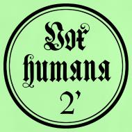 Motiv ~ Vox humana 2 Fuß (Ring) Baby Shirt