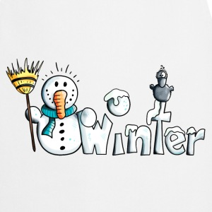 Happy Winter  Aprons - Cooking Apron