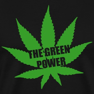 The green Power - Cannabis Koszulki - Koszulka męska Premium