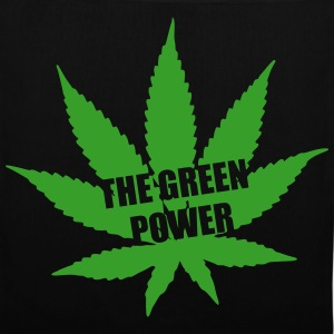 The green Power - Cannabis Tassen & rugzakken - Tas van stof