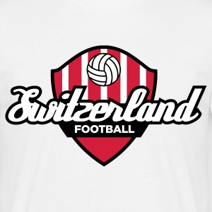 Football crest of Switzerland T-Shirts - Men's T-Shirt