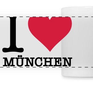 I love Munich Mugs & Drinkware - Panoramic Mug