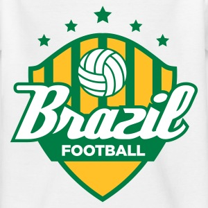 Football coat of arms of Brazil Shirts - Kids' T-Shirt