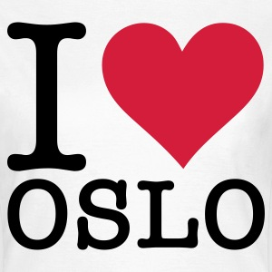 I love Oslo T-Shirts - Women's T-Shirt