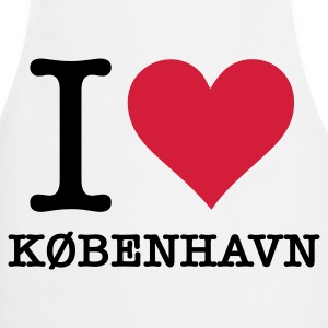 I love Copenhagen  Aprons - Cooking Apron