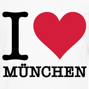 I love Munich Long sleeve shirts - Men's Premium Longsleeve Shirt