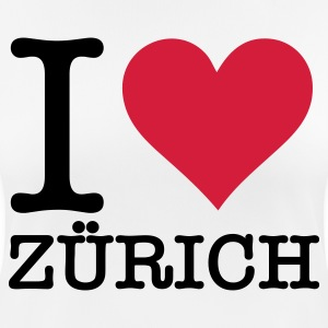 I love Zurich T-Shirts - Women's Breathable T-Shirt