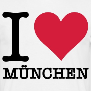 I love Munich T-Shirts - Men's T-Shirt