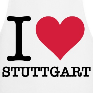 I Love Stuttgart  Aprons - Cooking Apron