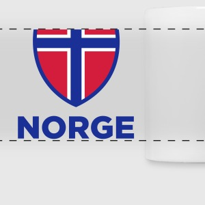 National Flag of Norway Mugs & Drinkware - Panoramic Mug