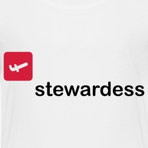 Stewardess T-Shirts - Teenager Premium T-Shirt