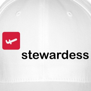 Stewardess Caps & Hats - Flexfit Baseball Cap