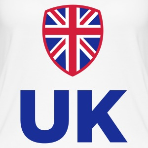 National Flag of the United Kingdom Tops - Women's Organic Tank Top