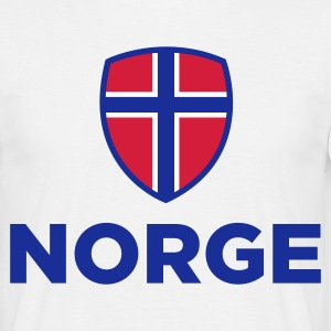 National Flag of Norway T-Shirts - Men's T-Shirt