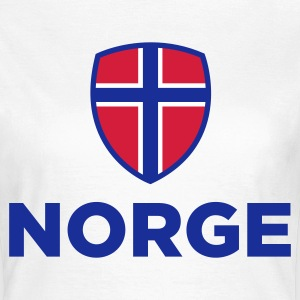 National Flag of Norway T-Shirts - Women's T-Shirt
