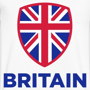 National flag of Great Britain T-Shirts - Men's V-Neck T-Shirt