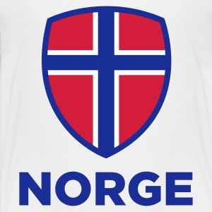 National Flag of Norway Shirts - Teenage Premium T-Shirt