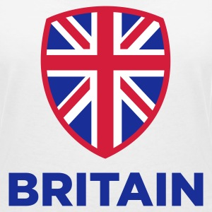 National flag of Great Britain T-Shirts - Women's V-Neck T-Shirt
