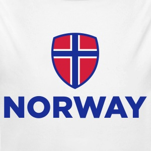 National Flag of Norway Baby Bodysuits - Longlseeve Baby Bodysuit