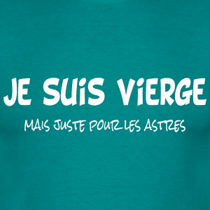 Je suis vierge T-shirts - Herre-T-shirt