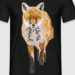 Red Fox T-Shirts - Men's T-Shirt