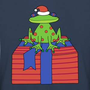 Christmas frog t-shirt for kids - Kids' Premium Longsleeve Shirt