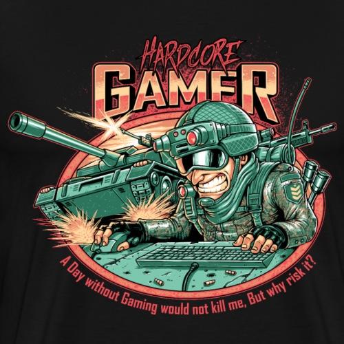 Gamer Designs Hardcore Tank RAHMENLOS® Geschenk