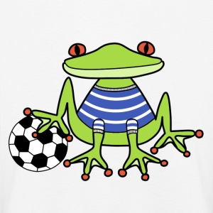 Football frog t-shirt for kids - Kids' Premium Longsleeve Shirt