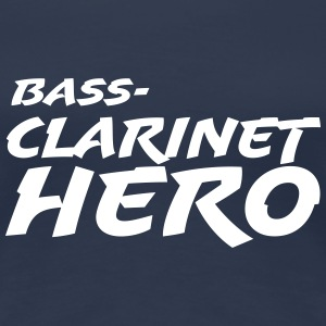 Bass Clarinet Hero - Premium T-skjorte for kvinner