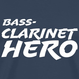 Bass Clarinet Hero T-Shirts - Men's Premium T-Shirt