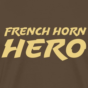 French horn hero T-shirts - Mannen Premium T-shirt